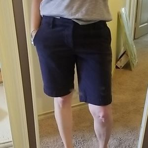 Sanctuary by Anthropologie Navy Shorts